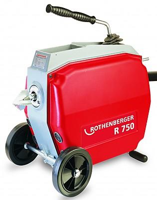 Машина для прочистки канализационных труб Rothenberger R750